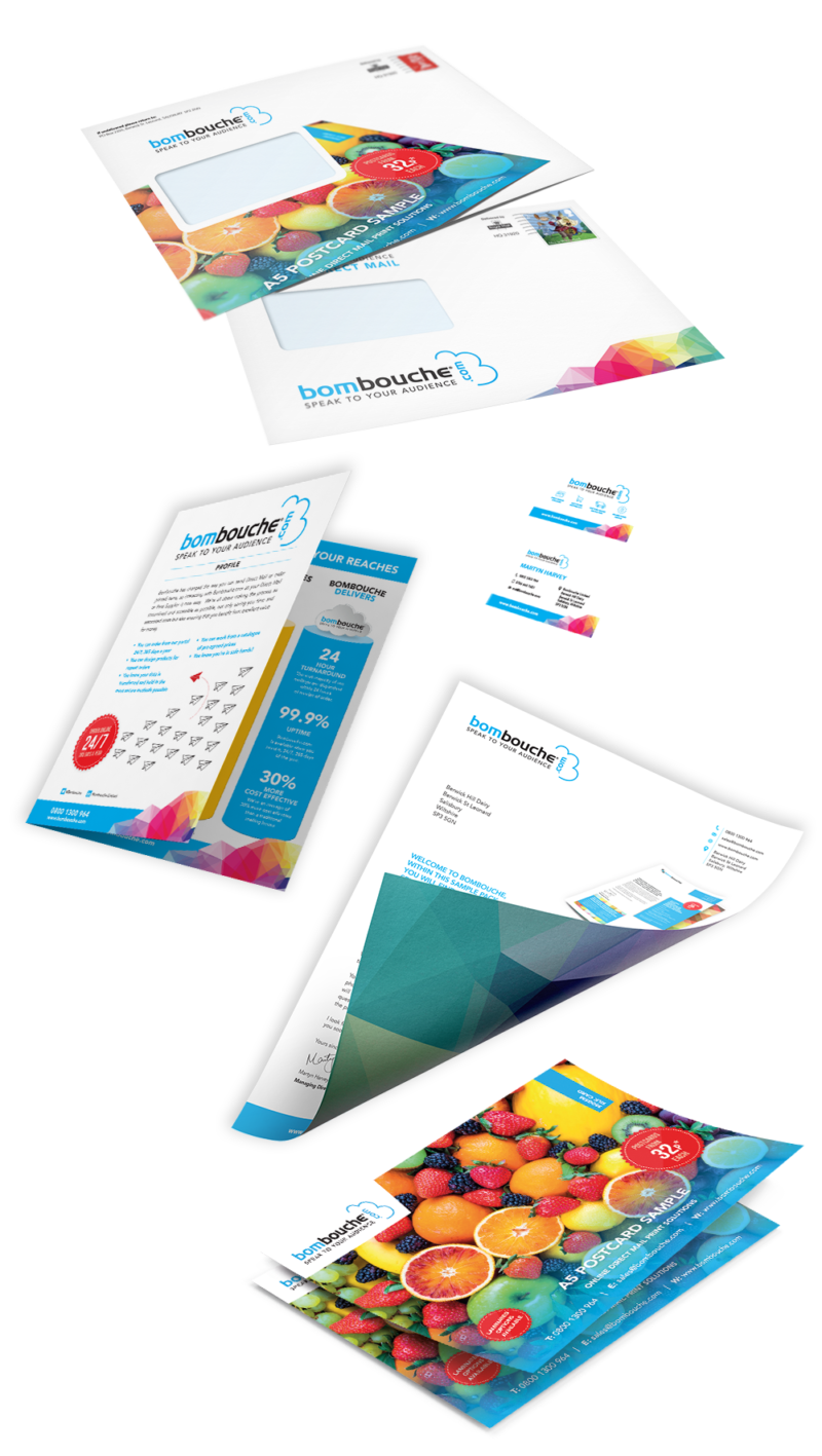 Sample pack | Direct Printing and Mailing from Bombouche com